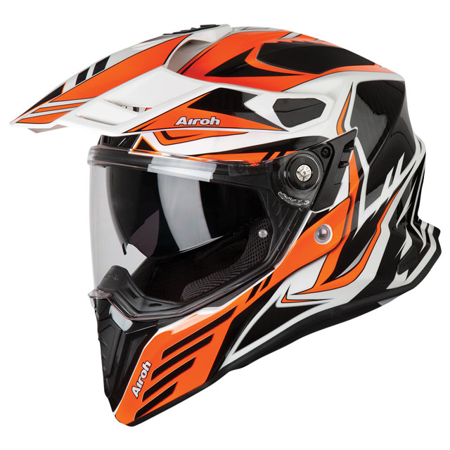 Commander Carbon Orange Gloss